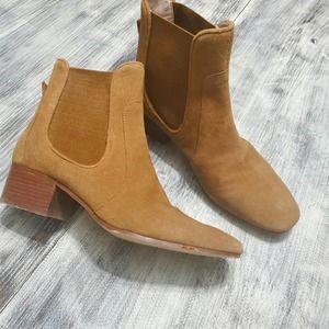 Zara pull on chelsea booties